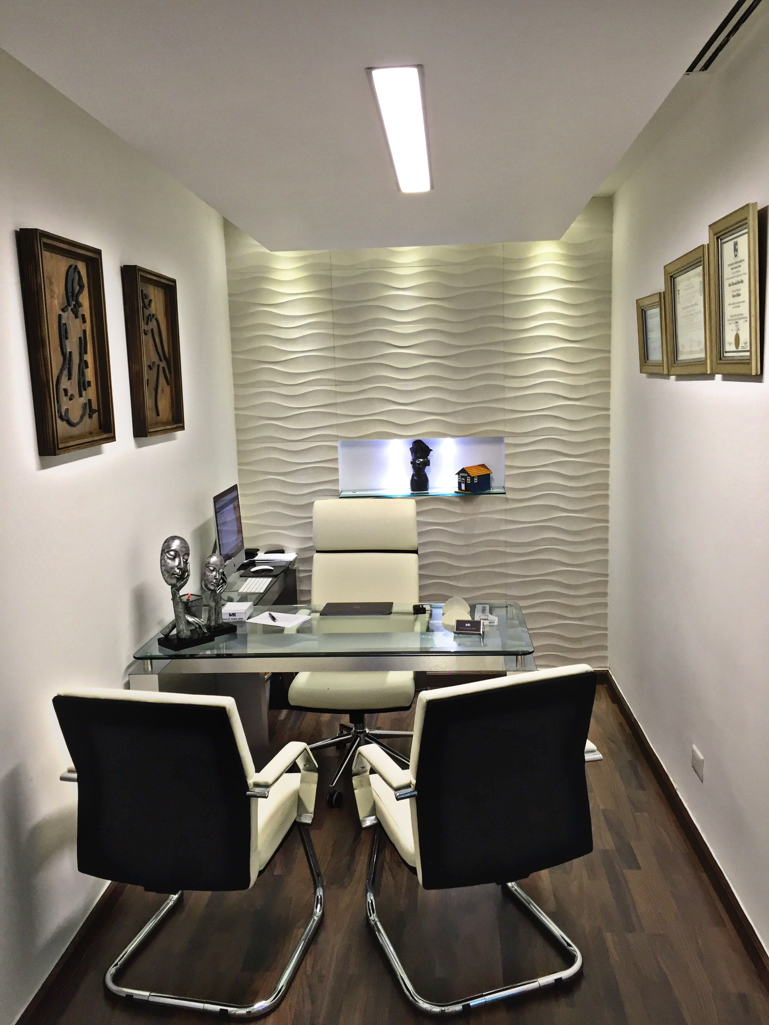 The clinic the office dr martin robles for Medical office design